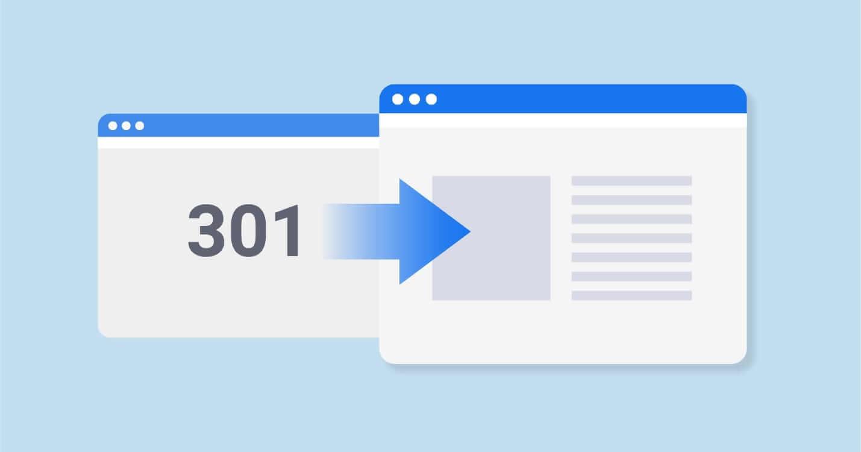 Dùng 301 Redirect (Nguồn: sitechecker.pro)