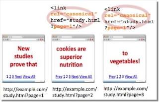 Không gắn Rel Canonical vào các phần phân trang (Nguồn: webmaster-vi.googleblog.com)