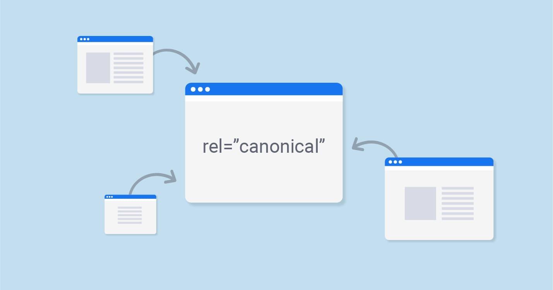 Rel Canonical giúp hợp nhất các URLs có nội dung trùng lặp (Nguồn: sitechecker.pro)