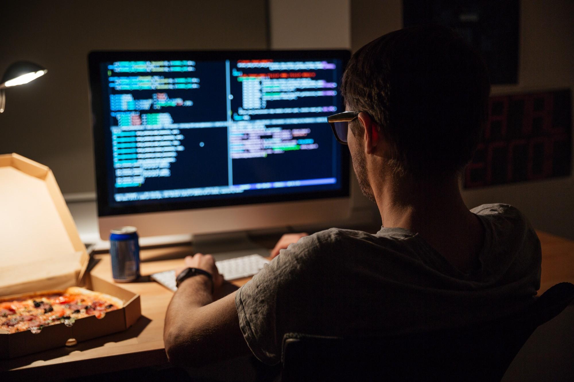 Khuôn mẫu điển hình của một developer: ngủ, ăn, làm việc đêm và lặp lại