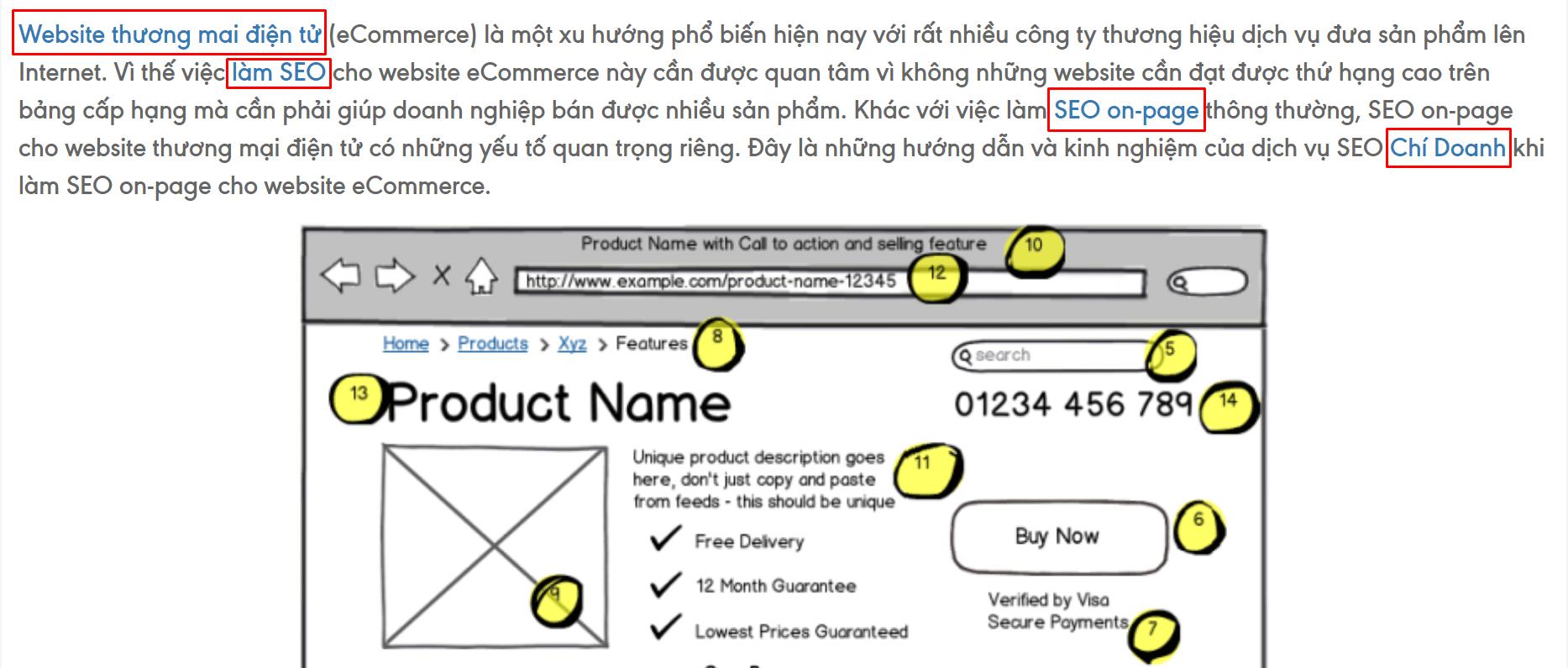 Các liên kết Anchor Text tốt sẽ giúp người dùng có thêm những thông tin bổ ích