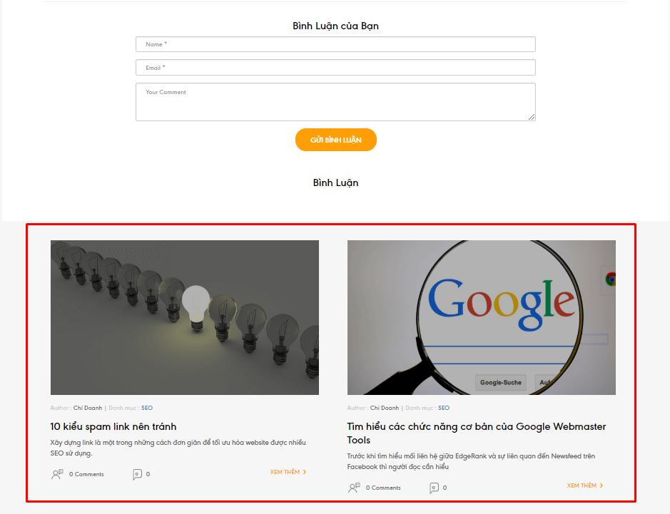 Cấu trúc liên kết nội bộ sẽ làm cho công cụ tìm kiếm dễ tìm và index nội dung của website nhanh hơn