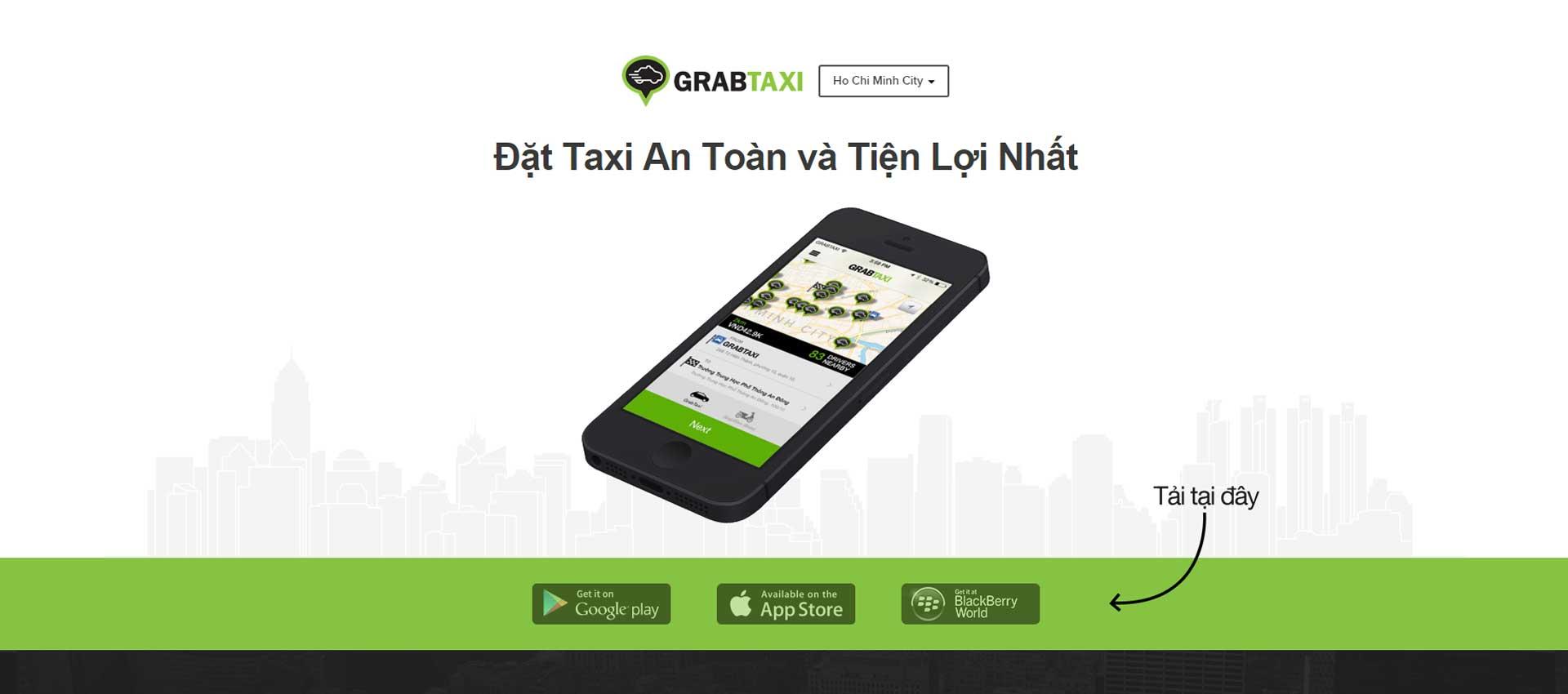 Thông tin tổng quan, khó khăn và kết quả đạt được của dự án GrabTaxi