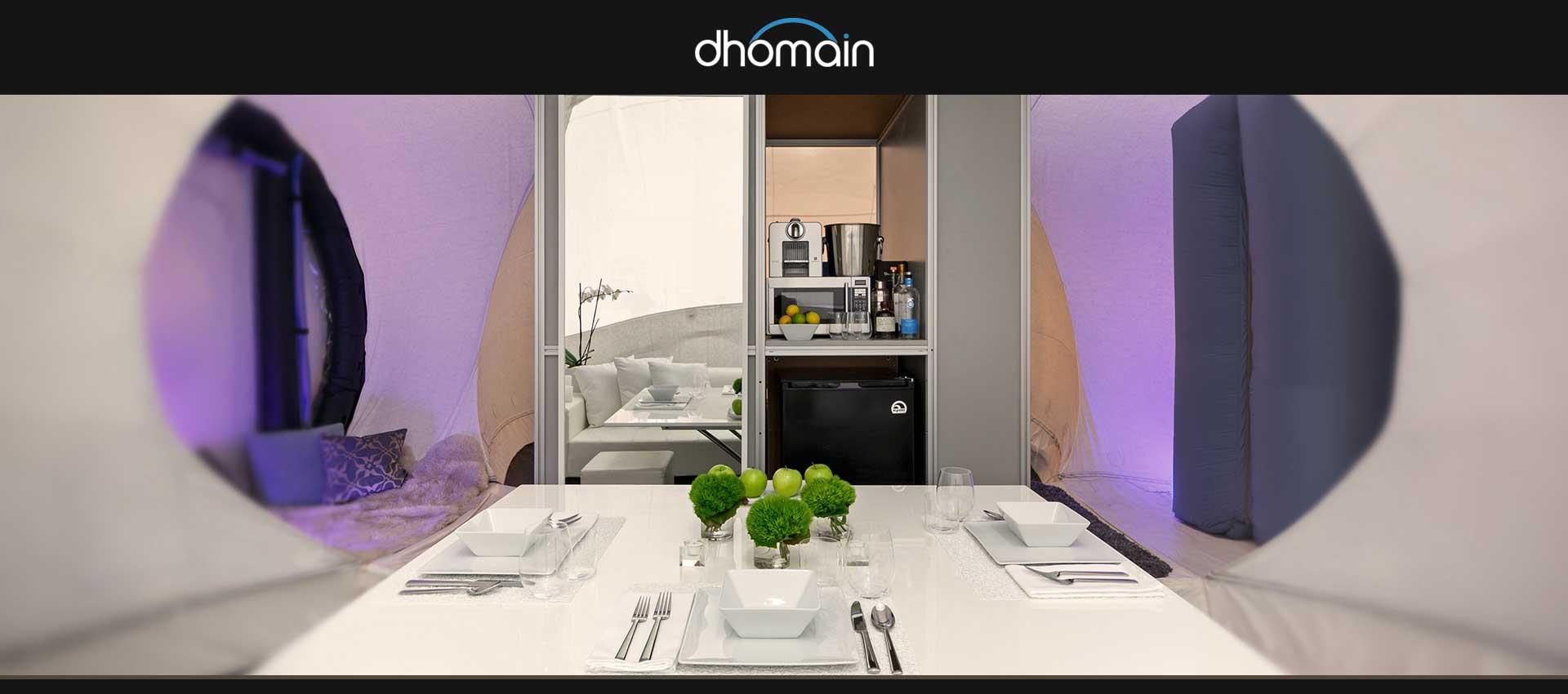 Thông tin tổng quan, khó khăn và kết quả đạt được của dự án Dhomain