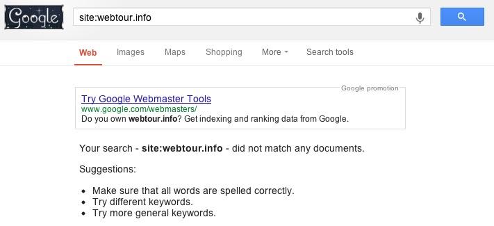Hướng dẫn gỡ bỏ hình phạt Google - Cách nhận biết site đã index chưa