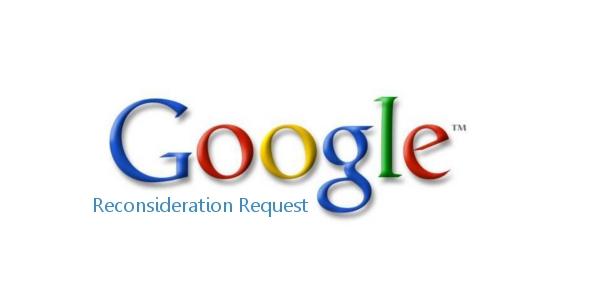 Gỡ bỏ hình phạt Google - Gửi yêu cầu xem xét( Reconsideration Request)